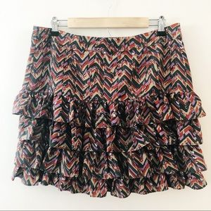 Banana Republic 4 Tiered Ruffle Skirt.Size 12.NWOT